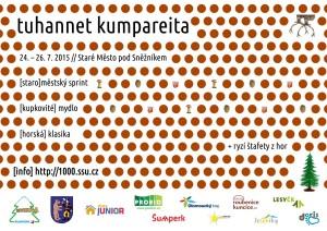 plakát Tuhannet Kumpareita 2015