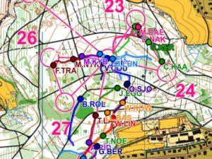 GPS tracking - světový pohár Arau